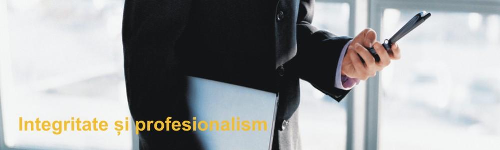 integritate si profesionalism