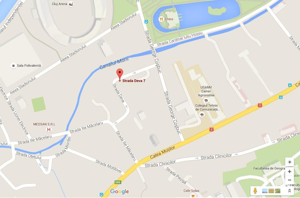 adresa Cluj Napoca